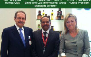 """Recibimos en nuestro stand al señor presidente de """"Emke Group"""" y """"Lulu Group"""""""
