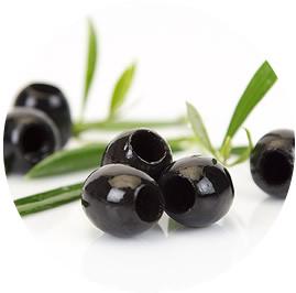 Aceituna Hutesa negra deshuesada