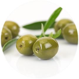 Aceituna Hutesa verde entera